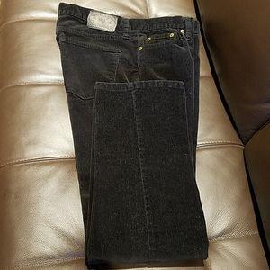 Ralph Lauren Cordoroy Black Jeans  Size 8